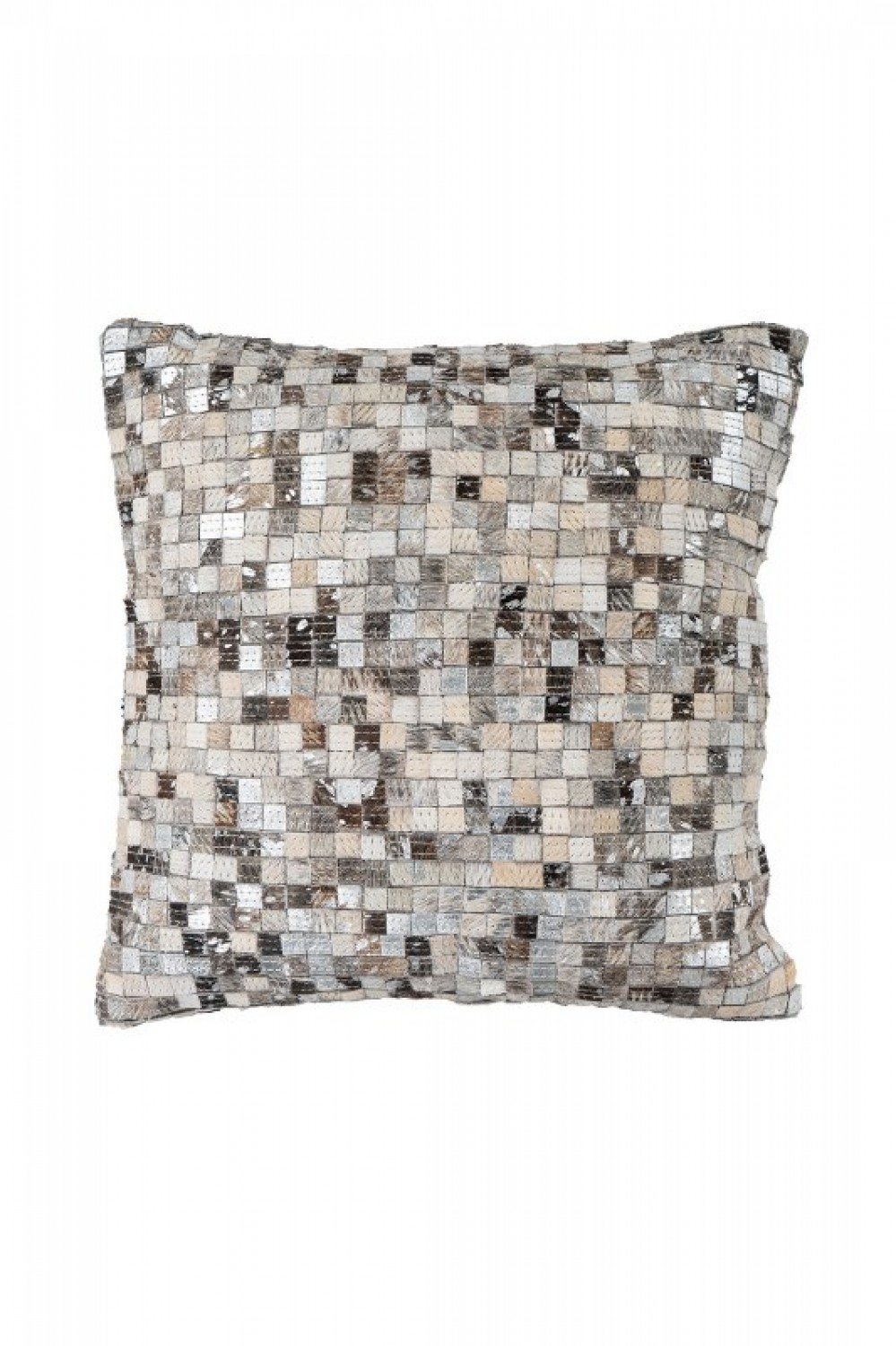 Finish Pillow 100 Grau / Silber