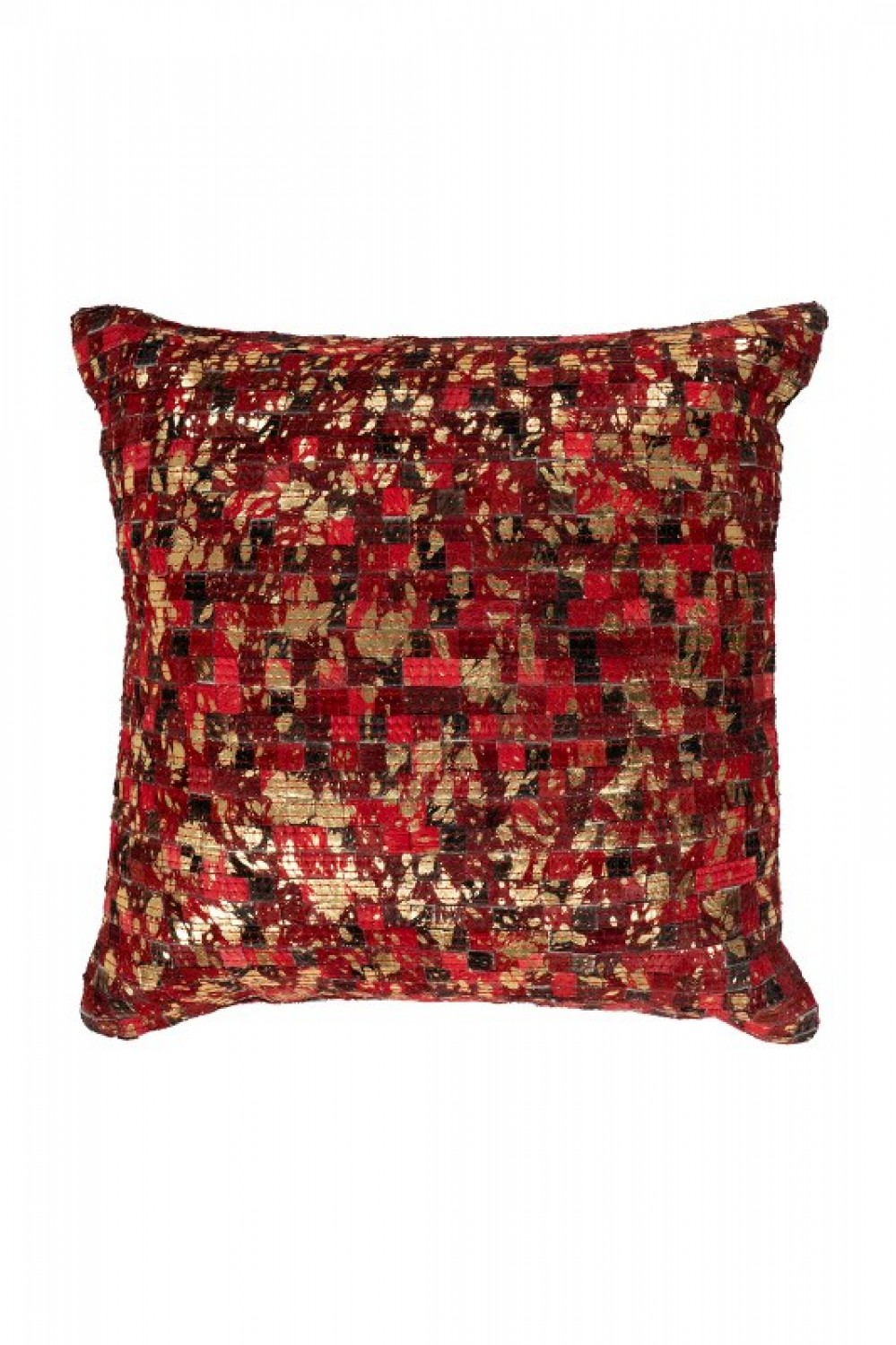 Finish Pillow 100 Rot / Gold