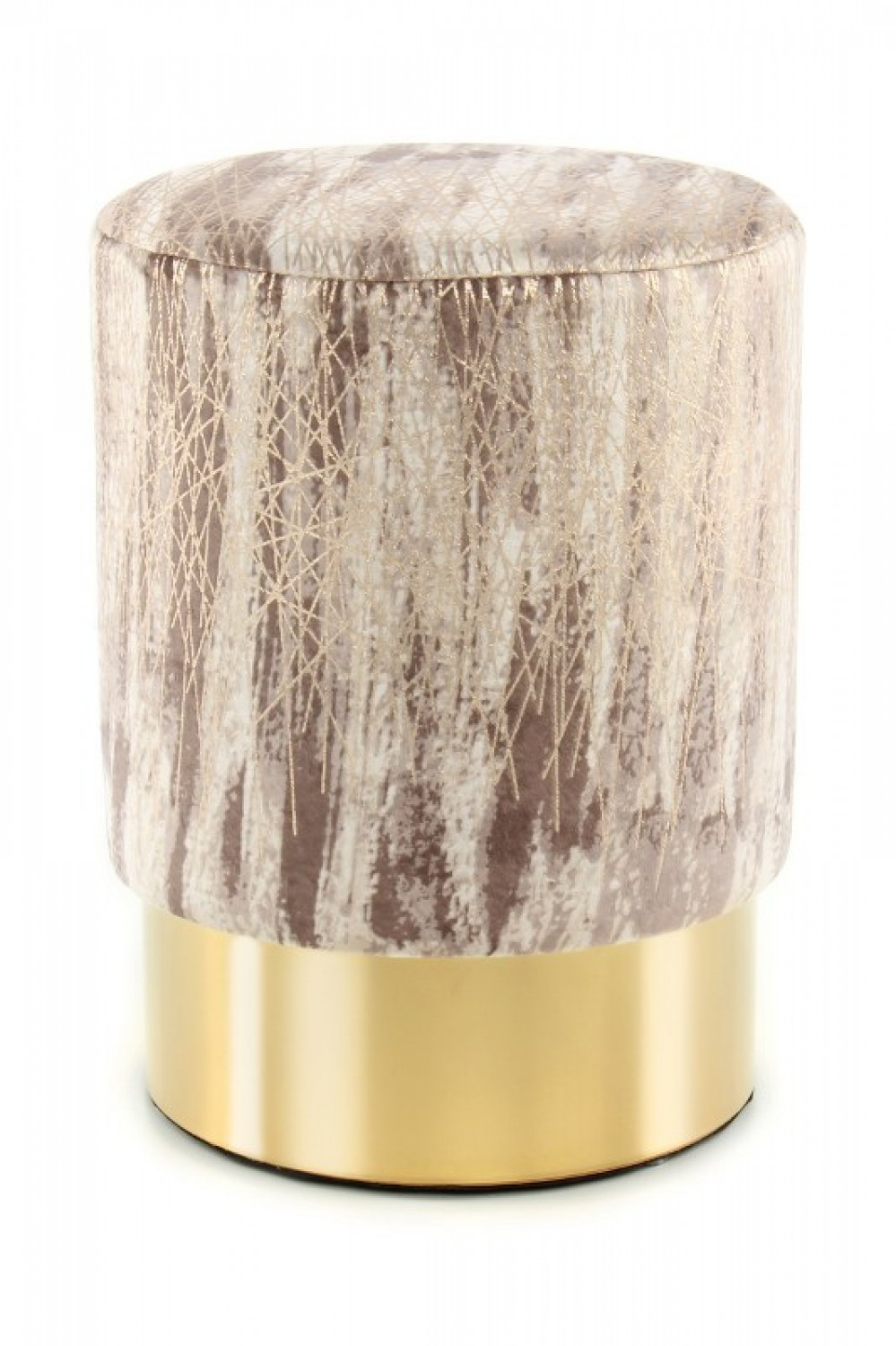Hocker Gipsy 125 Taupe / Gold