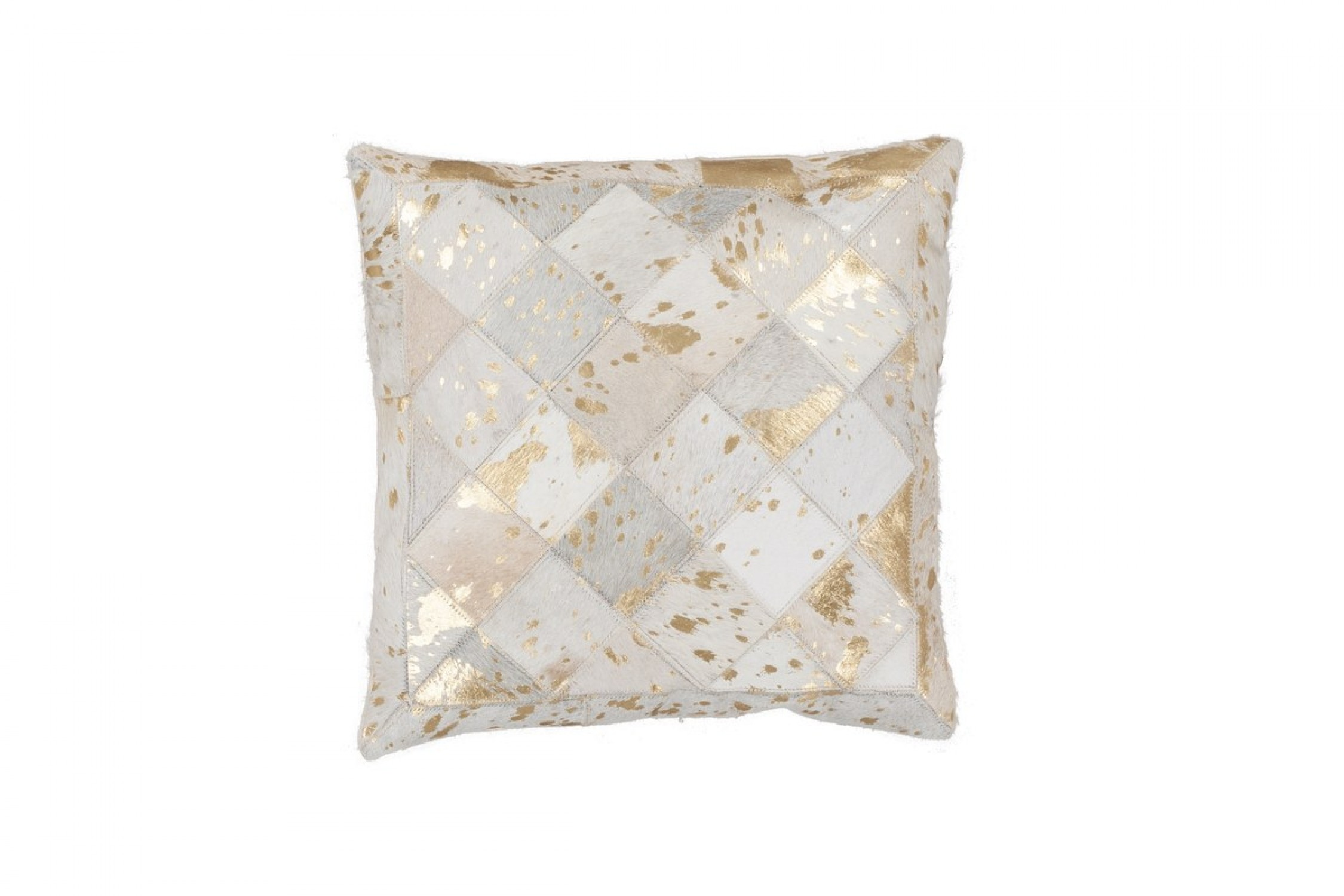 Lavish Pillow 210 Elfenbein / Gold