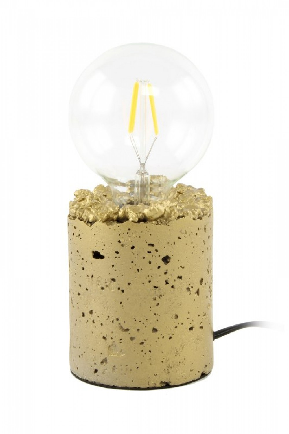 Tischlampe Curacao 525 Gold